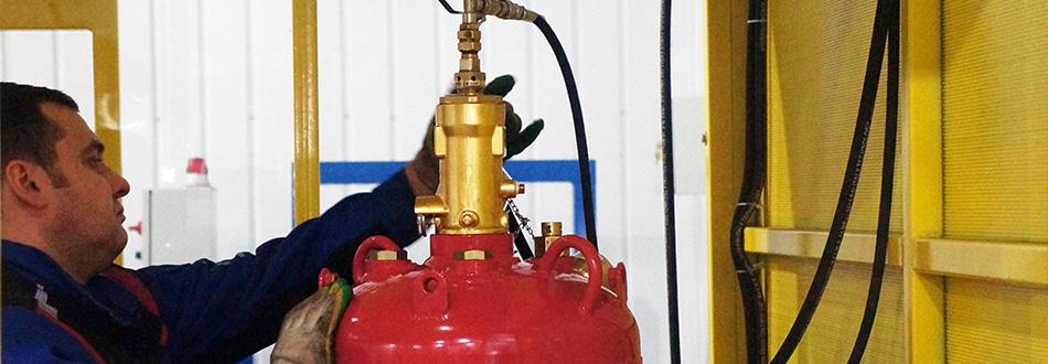 Переосвидетельствование модулей газового пожаротушения