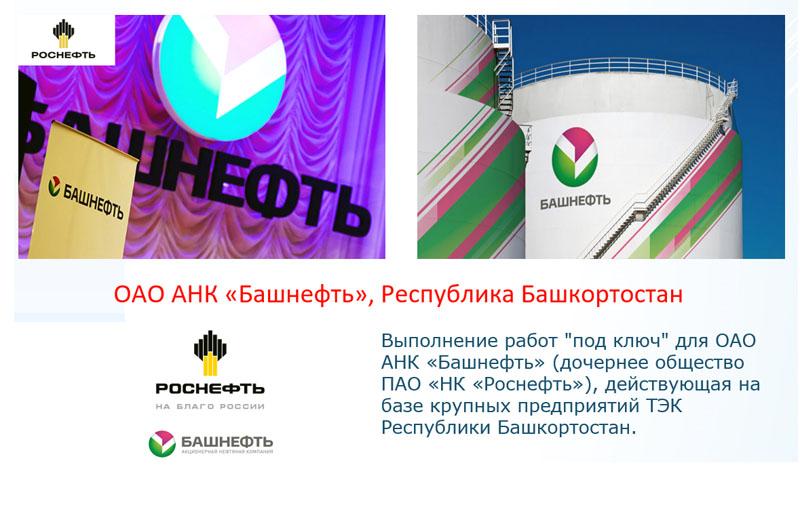 ОАО АНК «Башнефть», Республика Башкортостан