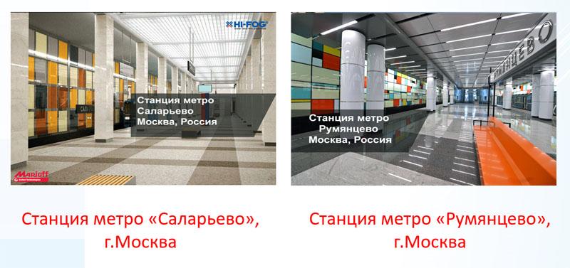 Станции метро «Саларьево», «Румянцево», г.Москва