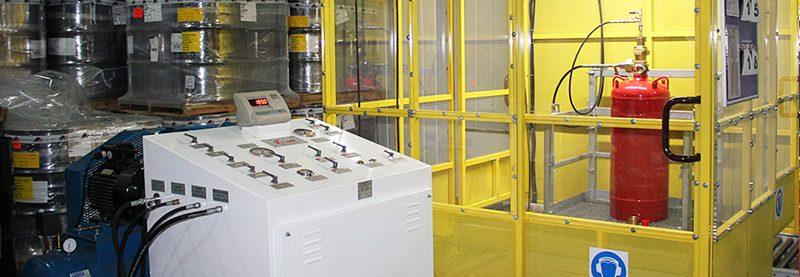 Заправка и перезаправка модулей газового пожаротушения